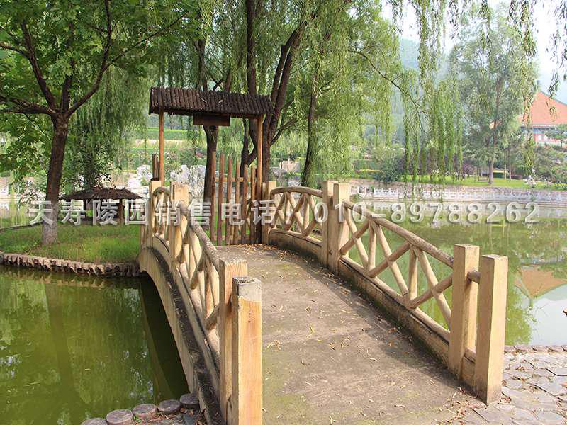 天寿陵园环境照片