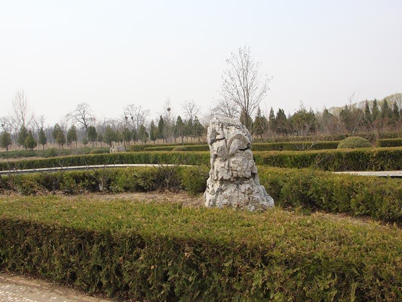 中华永久陵园环境