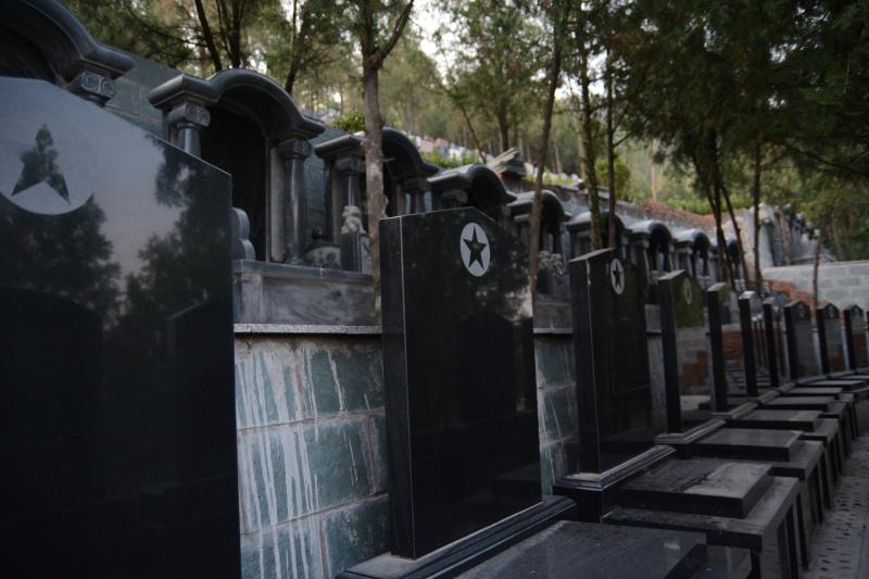 基本墓型-五星黑碑
