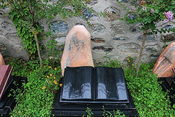 功泽园-家族墓,艺术立碑