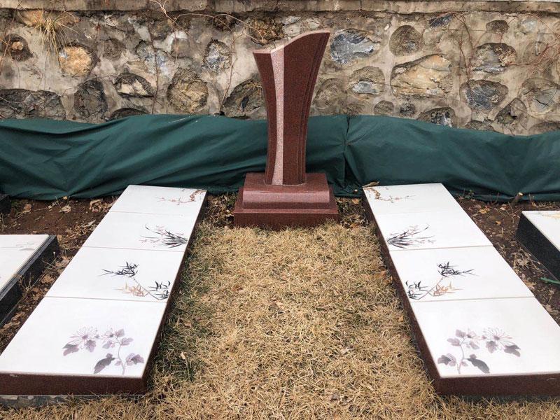 善寿园-家族墓,卧碑
