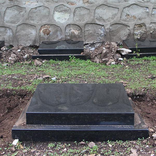 生态树葬区-树葬,卧碑