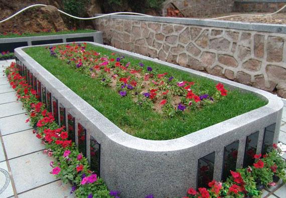 天静园花坛葬-花坛葬