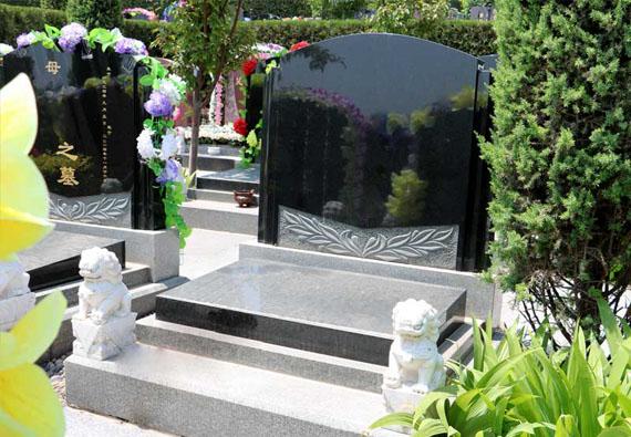 梅花园-传统立碑