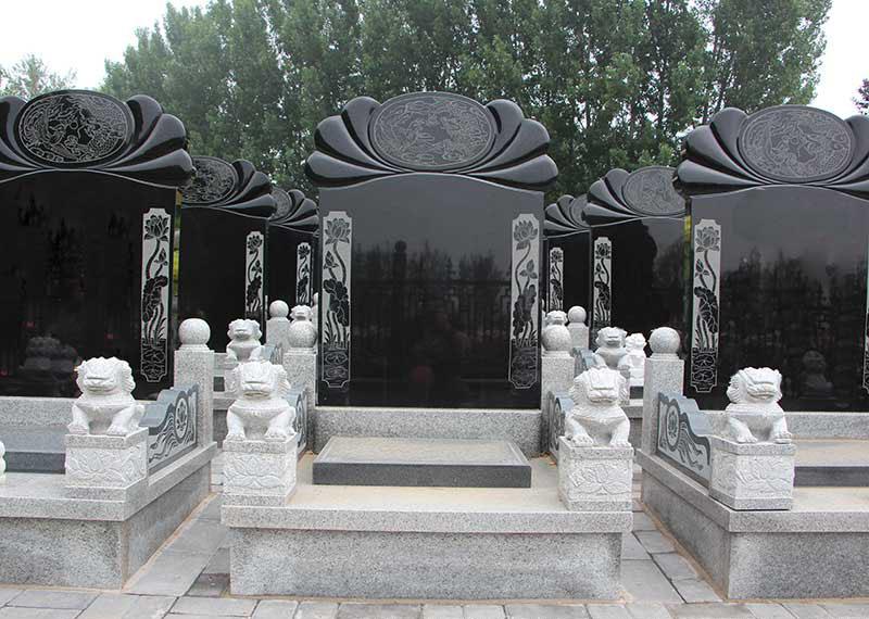 松鹤林新二区-艺术立碑