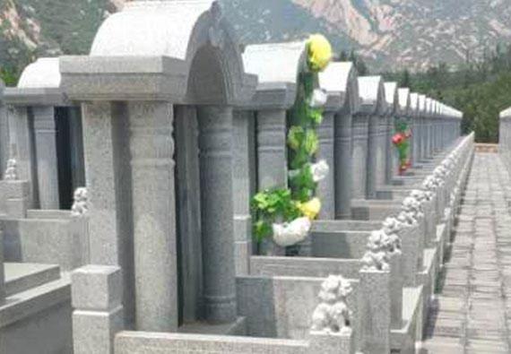 基本墓型-传统立碑