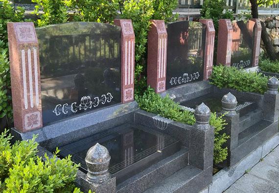 标准墓区-艺术立碑