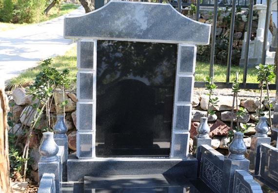 西静园-传统立碑