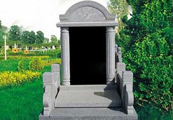 豪华墓区-传统立碑