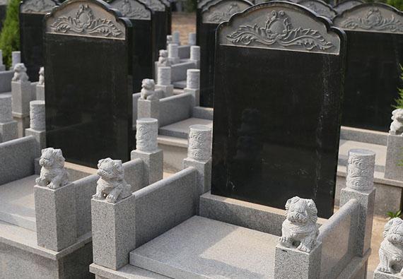 祥鹤园-传统立碑