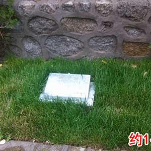 标准单穴墓型
