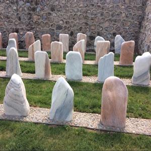 生态葬自然石
